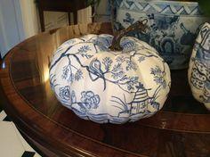 Chinoiserie Chic: Chinoiserie Pumpkins