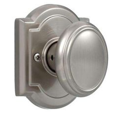 Baldwin   Prestige Carnaby Dummy Knob Satin Nickel Finish   For Use On  Interior Doors That Require Only A Push/pull Function.