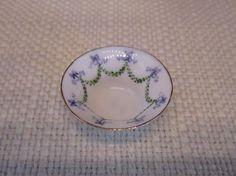 Ron Benson Artisan 1:12 Scale Porcelain Bowl Dollhouse Miniature (eBay asking price $120)