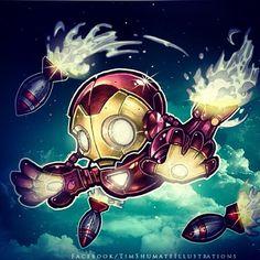 Iron Man- Bombs Away by Tim Shumate (telegrafixs) | deviantart.com