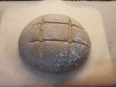 Recept: Celozrnný kváskový chlieb - www. Bread, Food, Brot, Essen, Baking, Meals, Breads, Buns, Yemek