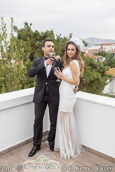Çankaya otel, Büyükada - -  wedding couple on the terrace - terasta gelin damat http://kemaleksen.com/#cankaya