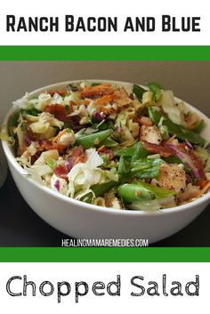 Bacon and Blue Chopped Salad - Powered by @ultimaterecipe
