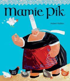 Mamie pik est le nouveau personnage d'Hubert Rublon, connu pour son célèbre Papy pêchou. Ici, cette mamie bigoudène nous fait rire par ses bretonnismes bien de chez nous ! Album dès 4 ans sur www.locus-solus.fr