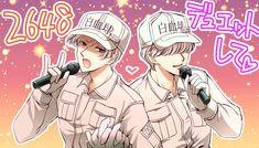 Cells at work Anime City, Blood Cells, My Character, All Art, Manga, Anime Characters, Romance, Kpop, Random