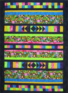 Playful Pinstripes with Foot Sack Quilt Pattern