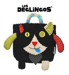 Les Deglingos Plecak Kot Charlos