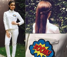 10 Surprisingly Easy And Chic Hairstyles Of Alia Bhatt You Should Definitely Try Alia Bhatt Hairstyles, Bollywood Hairstyles, Side Braid Hairstyles, Chic Hairstyles, Androgynous Look, Funny Memes Images, All Black Looks, Hair Game, Gorgeous Hair