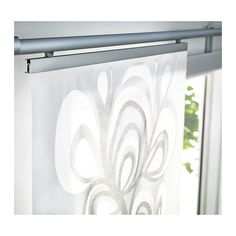 how to actually hang those curtain panels from ikea on the track system since their. Black Bedroom Furniture Sets. Home Design Ideas