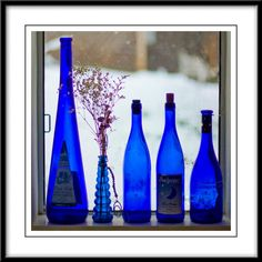 Blue Bottles, I think I'm gona start collecting these