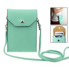 Smartphone Bag / Tasje met draagriem Licht Blauw