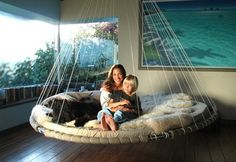 The Floating Bed: Rocking Hanging Beds