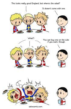 Scandinavia and the World :: Greens | Tapastic Comics - image 1