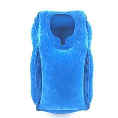 Air inflatable travel pillow Portable PVC Flocking Soft Head Neck Rest Support Cushion For Neck Body Sleeping Chin Head Support Travel Pillow Airplane, Cloud Pillow, Neck Pillow, Take A Nap, Head And Neck, Cushion Pads, Outdoor Cushions, Ultimate Travel, Athletic Tank Tops
