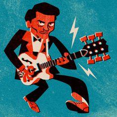 Chuck Berry https://www.instagram.com/lacruz.pablo/