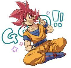 Goku super saiyajin dios