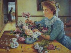 Elegância da pintura de Brenda Burke ...