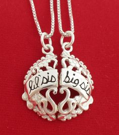 Some day when my girlies get older this would be a Perfect sister gift, sister LOVE ;)