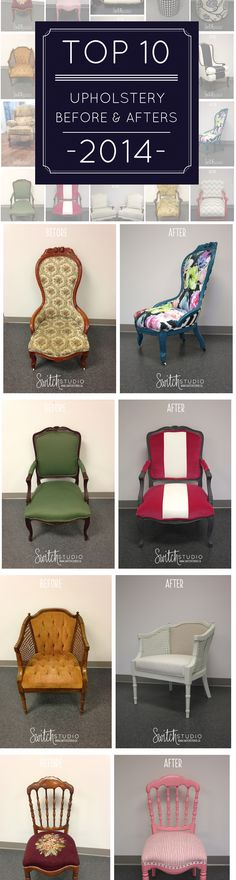 Top 10 Upholstery Before & After - Featured in @styleathome Magazine!  #switchstudio #upholstery #beforeafter #love http://www.switchstudio.ca/2015/01/top-10-upholstery-before-afters.html