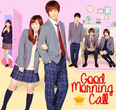 #GoodMorningCall https://mundodamoguih.blogspot.com.br/2016/11/good-morning-call.html #Dorama #Drama #Jdrama #Japones #serie #blog