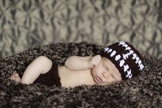 Football Hat Set Newborn sports Beanie by BellaMariesboutique