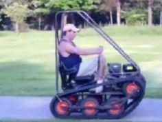 Personal Tracked Vehicle - YouTube