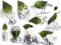 Victor Nunes is a 63 year old retired art director from São Paulo, Brazil. In his clever sketches he incorporates everyday objects into drawings. Draw On Photos, Pictures To Paint, Drawing Lessons, Art Lessons, Collages, Sketchbook Assignments, Object Drawing, Everyday Objects, Creative Thinking