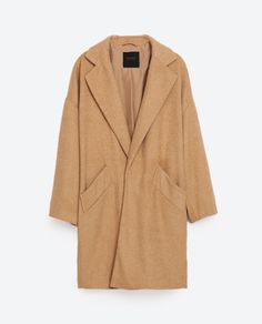 Image 8 of OVERSIZED COAT from Zara