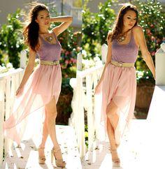 1. skirt, QUEEN'S WARDROBE  2. top, FOREVER 21  3. heels, (the almighty) STEVE MADDEN
