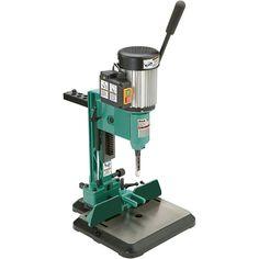 Grizzly G0645 and Shop Fox W1671 Benchtop Mortising Machine - RobotDigg Tool Storage, Storage Rack, R Robot, Mortising Machine, Cast Iron, It Cast, Chisel Set, Wood Magazine, Thing 1