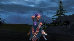 I love taking screenshots of my Sylvari when they are glowing