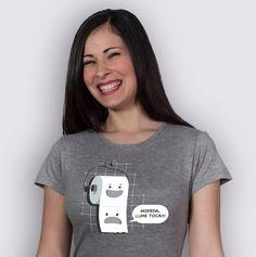 Mierda me toca, funny girls t-shirt