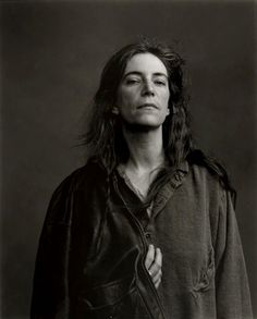 Patti Smith, New York, 1996, by Annie Leibovitz.