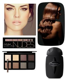 """Nude"" by mwellman-1 on Polyvore featuring BaByliss, Charlotte Russe and Down to Earth"