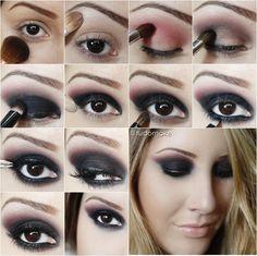 Passo a passo de maquiagem rock! - Tudo Make – Maior blog de maquiagem, beleza e tutoriais de Curitiba.