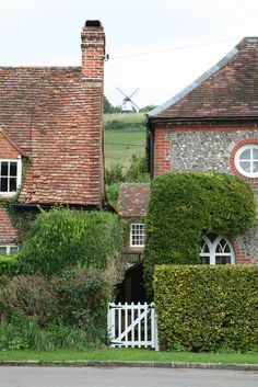 Chitty Chitty Bang Bang windmill (Ibstone)view from Turville, Bucks. (Turville = Vicar of Dibley etc. etc.)