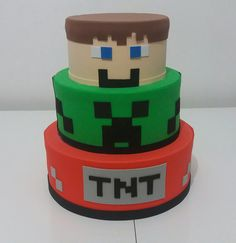 64 ideas cupcakes decoration for kids minecraft for Cupcakes Minecraft, Minecraft Torte, Minecraft Party Food, Minecraft Party Decorations, Minecraft Birthday Cake, Minecraft Crafts, 7th Birthday, Minecraft Skins, Mine Craft Party