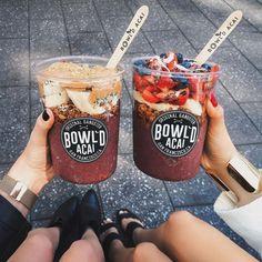 Bowl'd Acai in San Francisco🗻 Best Acai Bowl Recipe, Bowld Acai, Acai Berry, Paleo Chocolate, Chocolate Truffles, Chocolate Brownies, Food Goals, Aesthetic Food, Food Cravings