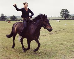 Photographer Iain McKell returned to the English countryside in 2001 for the summer solstice festival at Stonehenge. The travelers he met had taken up horse-drawn caravans as their mode of transportation, incorporating a strain of back-to-the-land environmentalism into a hybrid of hippy and punk lifestyles. For the next 10 years, sometimes for several days at a time, McKell traveled and photographed the group, which has culminated in a book called The New Gypsies, published by Prestel.