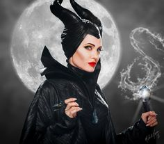 Maleficent by Mike Norse [©2014]