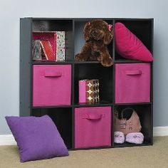 Target Mobile Site   ClosetMaid Cubeicals® Cubeicals 9 Cube Organizer Black  Ash Possible Option Instead Of Lighter Pink Frame
