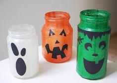 Halloween-Special-gruselige-Windlichter-K�rbis-Geist-Frankenstein-Anleitung-ohne-Kerzen
