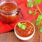 Keto homemade sugar free ketchup recipe