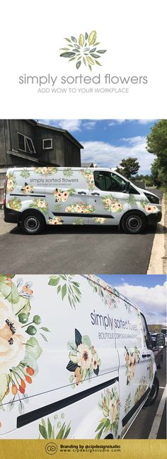 Stand out from the crowd and advertise where you go with custom signage design from @cipdesignstudio.  Check out more examples of our work over at www.cipdesignstudio.com  #signagedesign #signage #vehiclesignage #signageinspo #carsignage #vansignage #floristbranding #floristvehicle