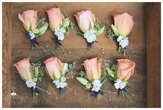 navy and coral floral arrangements - Google Search
