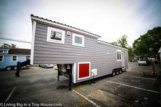 This 40ft Tiny House Is A Mansion On Wheels | Living Big In A Tiny House