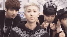 kpop Bts Jungkook Rap Monster J.HOPE Jimin Nam Joon Jung Ho Seok freshhunicorn...