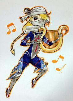 Chibi Sheik (Hyrule Warriors)