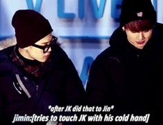 XDXD JIMIN YOU'VE TRIED. ..but i appreciate that poker face you did xd