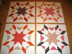 Happy Quilting: Starburst Quilt-A-Long - Finished Quilt Top